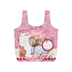Baby By Baby   Full Print Recycle Bag (s)   Mm8l17vyeanb   Www Artscow Com Back
