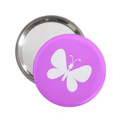 Butterfly Handbag Mirror (2.25 ) by Colorfulart23