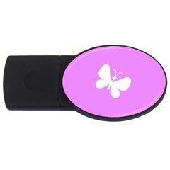 Butterfly 2GB USB Flash Drive (Oval)