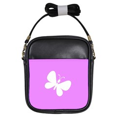 Butterfly Girl s Sling Bag by Colorfulart23