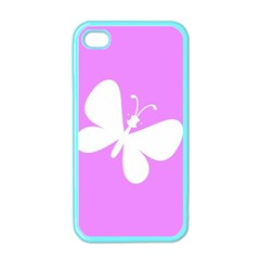 Butterfly Apple Iphone 4 Case (color) by Colorfulart23