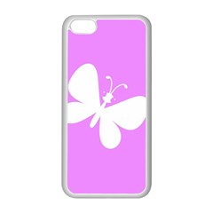 Butterfly Apple Iphone 5c Seamless Case (white)