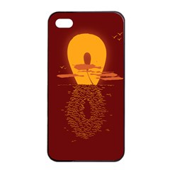 Endless Summer, Infinite Sun Apple Iphone 4/4s Seamless Case (black) by Contest1893972