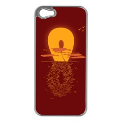 Endless Summer, Infinite Sun Apple Iphone 5 Case (silver) by Contest1893972
