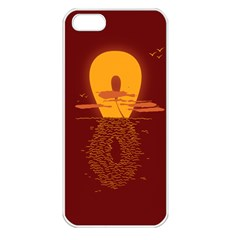 Endless Summer, Infinite Sun Apple Iphone 5 Seamless Case (white)