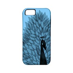 Flaunting Feathers Apple Iphone 5 Classic Hardshell Case (pc+silicone) by Contest1893972