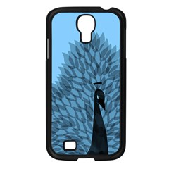 Flaunting Feathers Samsung Galaxy S4 I9500/ I9505 Case (black)