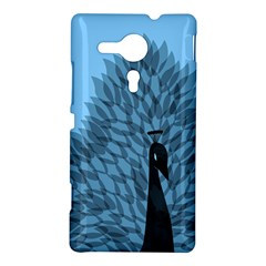Flaunting Feathers Sony Xperia SP M35H Hardshell Case by Contest1893972