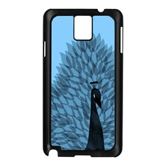 Flaunting Feathers Samsung Galaxy Note 3 N9005 Case (Black) by Contest1893972