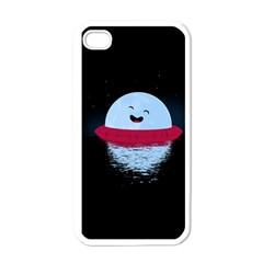 Midnight Swim Apple Iphone 4 Case (white)