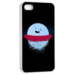 Midnight Swim Apple Iphone 4/4s Seamless Case (white) by Contest1893972