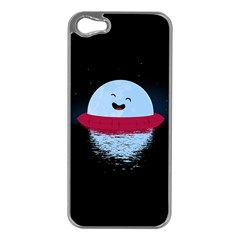 Midnight Swim Apple iPhone 5 Case (Silver) by Contest1893972