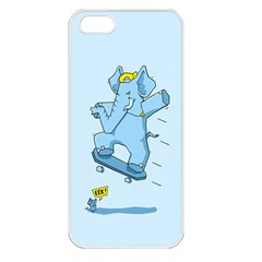 The Ollie Phant Apple Iphone 5 Seamless Case (white) by Contest1893972