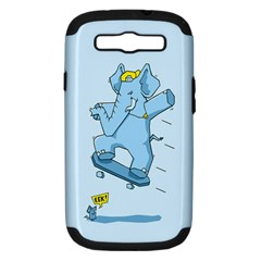 The Ollie Phant Samsung Galaxy S Iii Hardshell Case (pc+silicone) by Contest1893972
