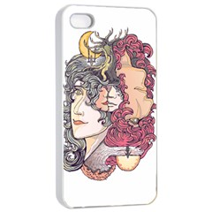 Kiss ! Apple Iphone 4/4s Seamless Case (white) by Contest1731890