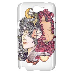 KISS ! Samsung Galaxy Note 2 Hardshell Case by Contest1731890