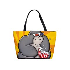 Cinema Gorilla Sq 3500px Large Shoulder Bag by CaterinaBassano