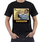 Satchmo - Men s T-Shirt (Black)