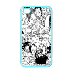 Faces In Places Apple Iphone 4 Case (color) by Contest1894109