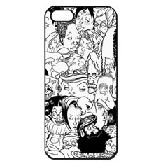 Faces In Places Apple Iphone 5 Seamless Case (black) by Contest1894109
