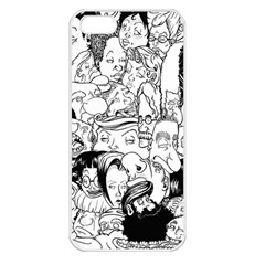 Faces In Places Apple Iphone 5 Seamless Case (white) by Contest1894109