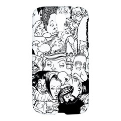 Faces In Places Samsung Galaxy S4 I9500/i9505 Hardshell Case by Contest1894109