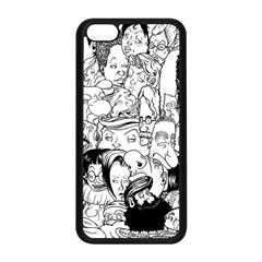Faces In Places Apple Iphone 5c Seamless Case (black) by Contest1894109