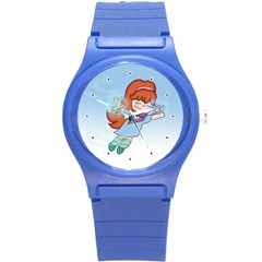 Fairy Flight Plastic Sport Watch (small) by CaterinaBassano