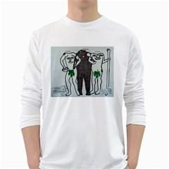 Legends & Truth Men s Long Sleeve T Shirt (white)