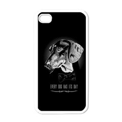 every dog has its day Apple iPhone 4 Case (White) by Contest1761904
