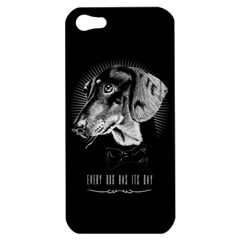 Every Dog Has Its Day Apple Iphone 5 Hardshell Case by Contest1761904