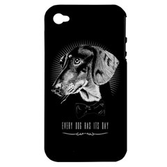 Every Dog Has Its Day Apple Iphone 4/4s Hardshell Case (pc+silicone) by Contest1761904