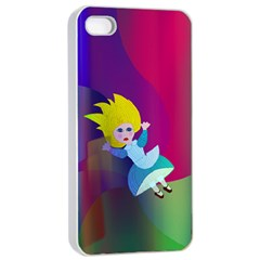 Alice Apple iPhone 4/4s Seamless Case (White) by Contest1858311
