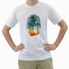 A Discovery In The Forest Men s T Shirt (white)  by Contest1888822