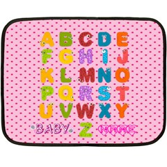 Abc Mini Blanket #3, 2 Sides By Joy Johns   Double Sided Fleece Blanket (mini)   2693grqm75so   Www Artscow Com 35 x27 Blanket Back