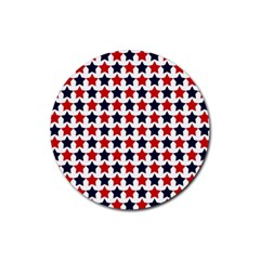 Patriot Stars Drink Coasters 4 Pack (round) by StuffOrSomething