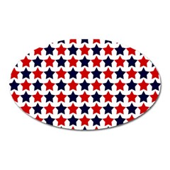 Patriot Stars Magnet (oval) by StuffOrSomething