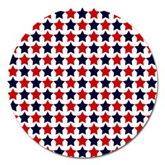 Patriot Stars Magnet 5  (round) by StuffOrSomething