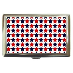 Patriot Stars Cigarette Money Case by StuffOrSomething