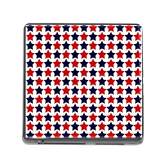 Patriot Stars Memory Card Reader With Storage (square) by StuffOrSomething