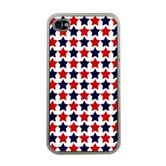 Patriot Stars Apple Iphone 4 Case (clear) by StuffOrSomething
