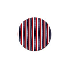 Patriot Stripes Golf Ball Marker 10 Pack by StuffOrSomething
