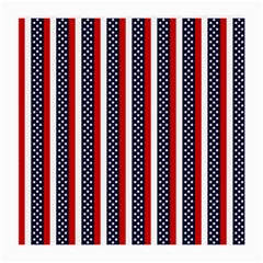 Patriot Stripes Glasses Cloth (medium, Two Sided) by StuffOrSomething