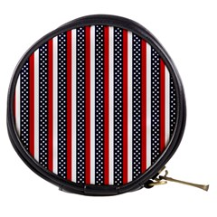 Patriot Stripes Mini Makeup Case by StuffOrSomething