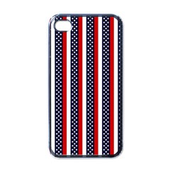 Patriot Stripes Apple Iphone 4 Case (black) by StuffOrSomething