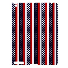 Patriot Stripes Apple Ipad 3/4 Hardshell Case by StuffOrSomething