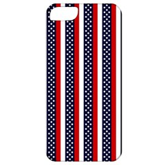 Patriot Stripes Apple Iphone 5 Classic Hardshell Case by StuffOrSomething