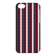 Patriot Stripes Apple Iphone 5c Hardshell Case by StuffOrSomething