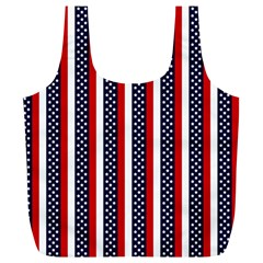 Patriot Stripes Reusable Bag (xl) by StuffOrSomething