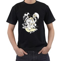 Go Ganesh Men s T-shirt (Black) by Contest1894109